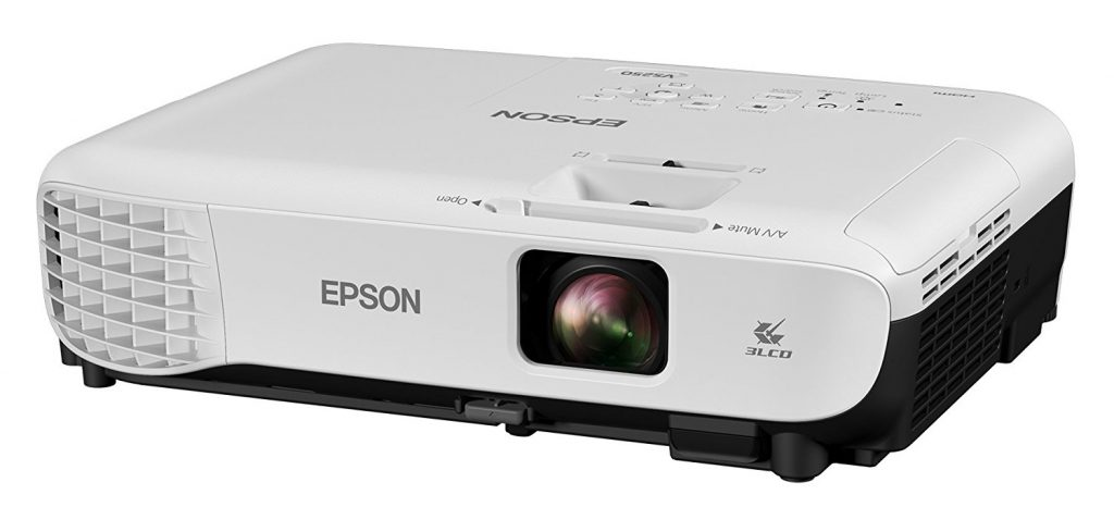 Epson VS250 SVGA 3,200 lumens color