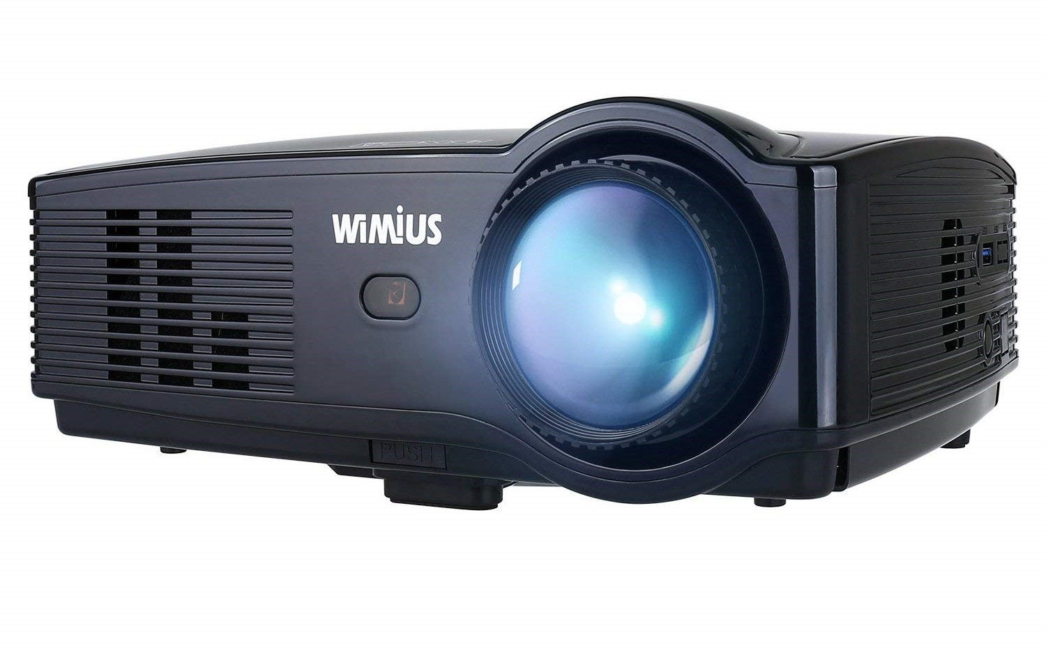 WIMIUS T4 3500 Lumens Video outdoor Projector Support 1080P 200 Display HDMI VGA AV USB-min
