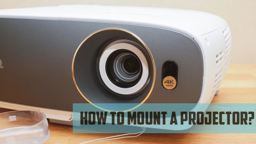 how to mount a projector