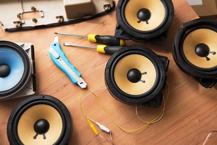 install car speakers