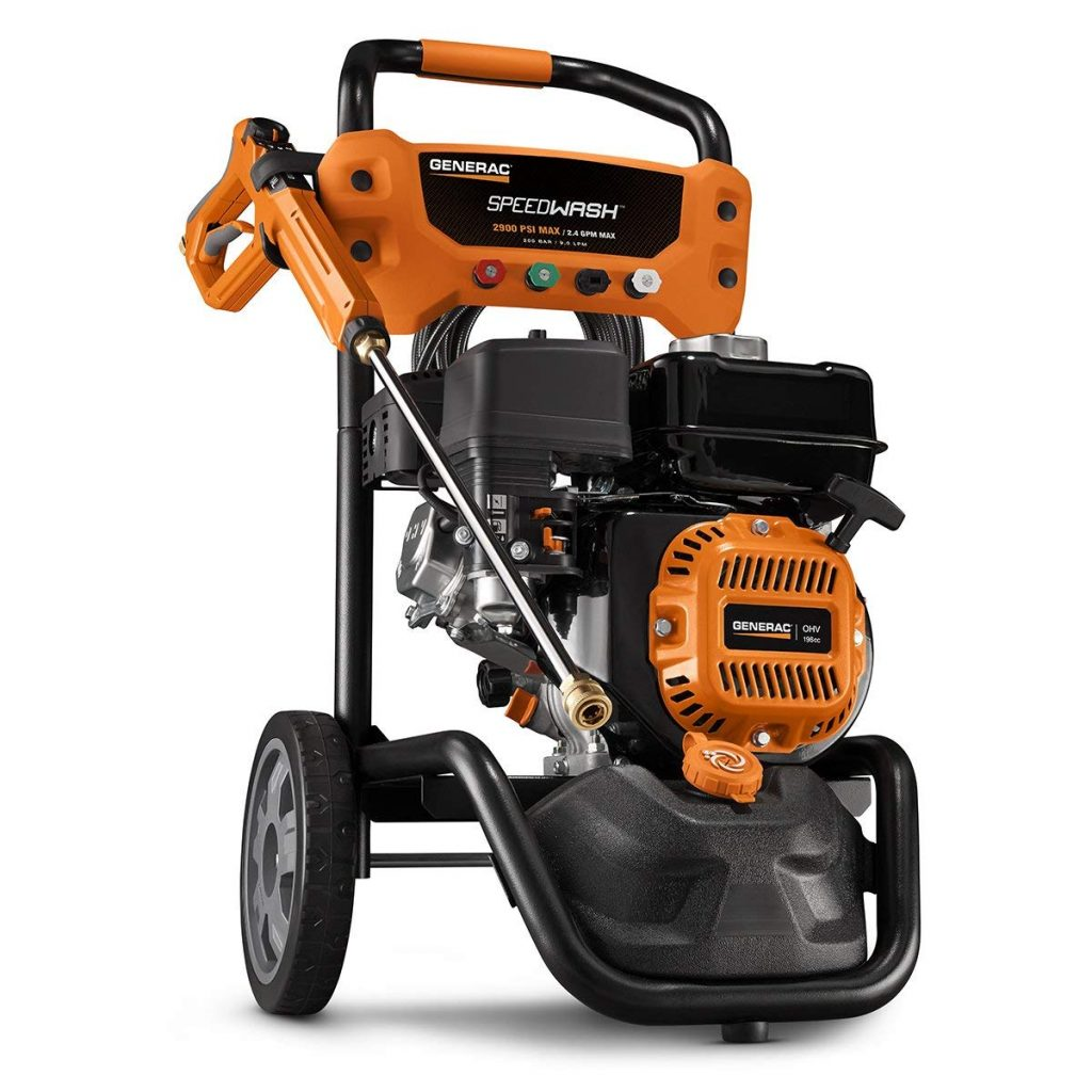 Generac SpeedWash 6882 2900 PSI 2.4 GPM 196cc Gas Powered