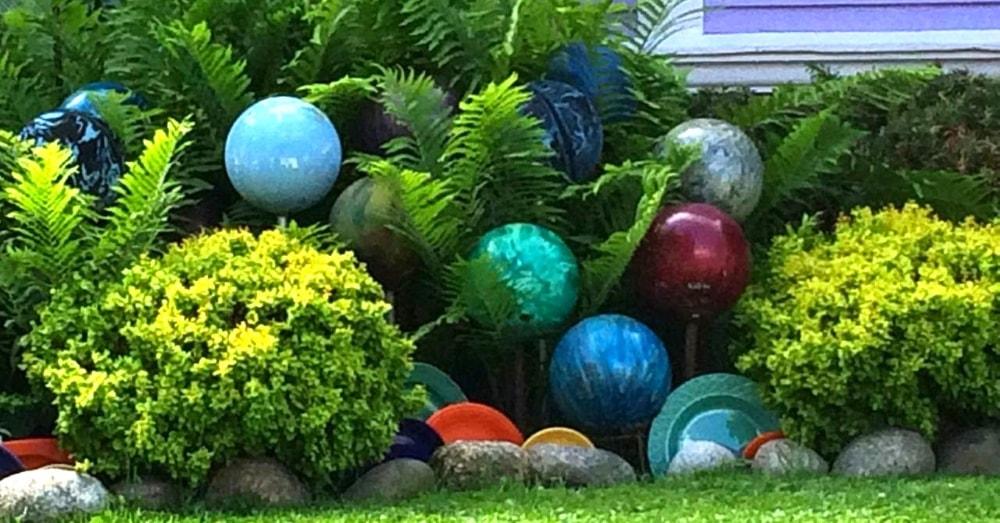 backyard bowling balls