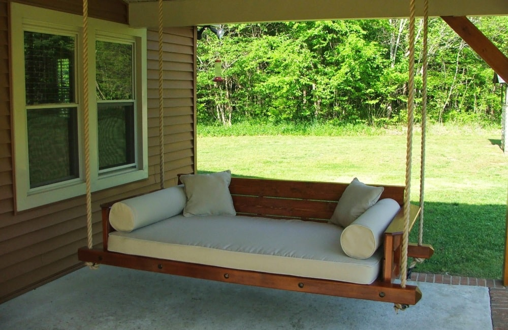 Crib mattress swing