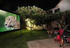 outdoor projector enclosure