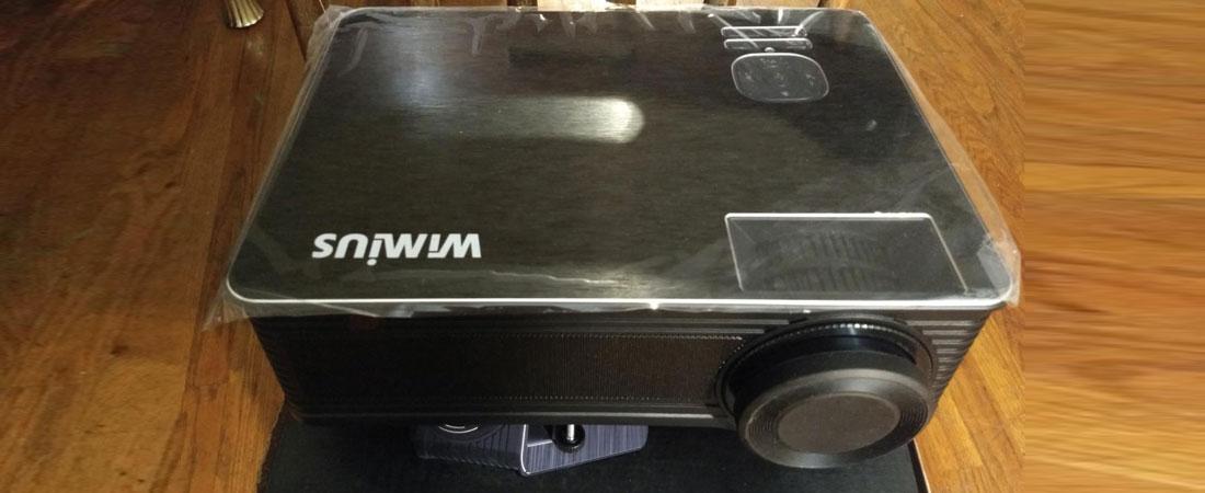 WiMiUS Projector 1080p projector